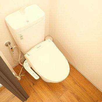 トイレはぽてっとしててかわいいです