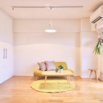 どんな家具を置こうかワクワクしますね。※家具はイメージです。