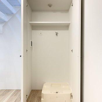 【SR】ここに洗濯機置き場があります。※写真は前回募集時のものです