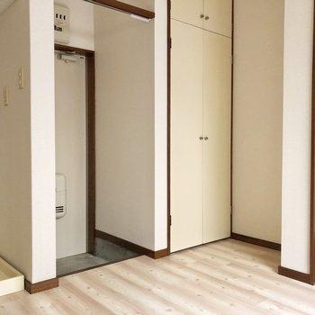 薄い色の床で柔らかい雰囲気※写真は前回募集時のものです