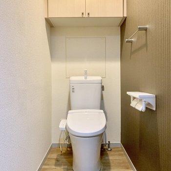 トイレは余裕のある広さ