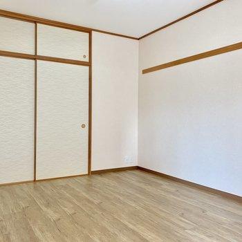 【洋室6帖】ここは寝室にしよう