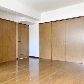 【LDK】扉を閉めてプライベートを保ちます。
