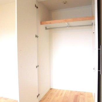 収納も大容量♪※写真は4階の同間取り別部屋のものです