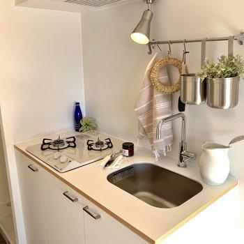 キッチンはお部屋の主役。