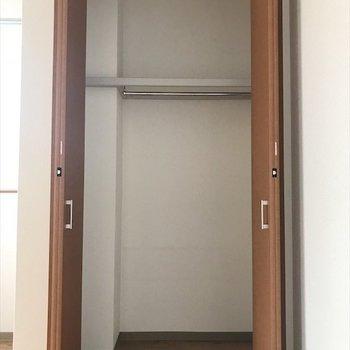 洋室②】奥行きのあるクローゼット◎
