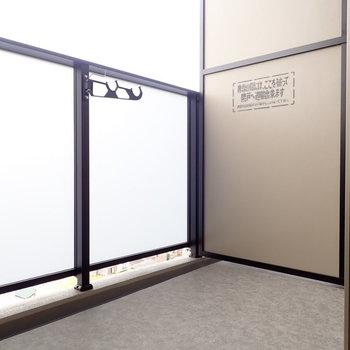 布団もゆったり干せそうな広さ ※写真と文章は10階同間取り別部屋のものです。細部は異なることがあります。