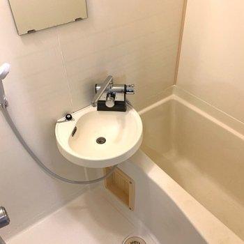 レトロな雰囲気のお風呂