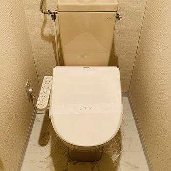 おトイレはウォッシュレットが付いていました