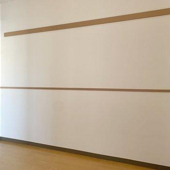 【洋室5.0帖】子ども部屋としても使えそうな空間ですよ。