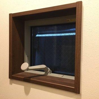 小窓がついていました。