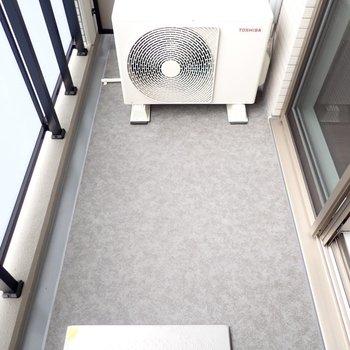 布団もゆったり干せそうです※写真と文章は10階同間取り別部屋のものです。細部は異なることがあります。