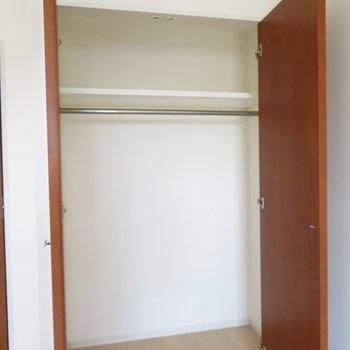 一人分ならしっかり収まりそう。※写真は14階同間取り・別部屋のものです。