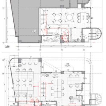 3階と4階のメゾネットタイプになっています