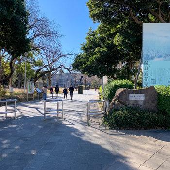 北浦和公園に県立の美術館も入っています。