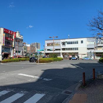 最寄りの北浦和駅周辺です。