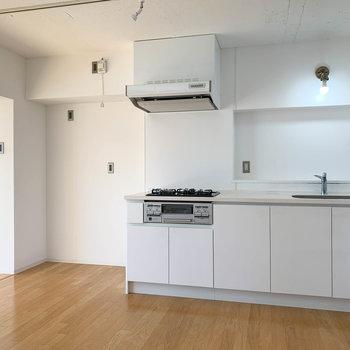 【DK4.4帖】キッチンも大きくて使いやすそう。