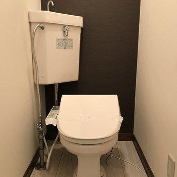 おトイレはウォシュレットつき