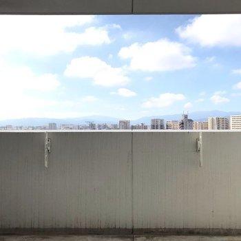 【2F】休日は青空を見ながら、ゆっくり入浴楽しみたい。(※写真は別部屋からのものです)