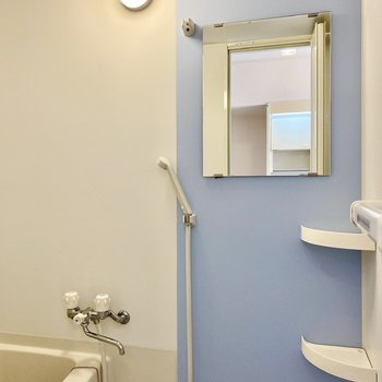 浴室。広々としています。