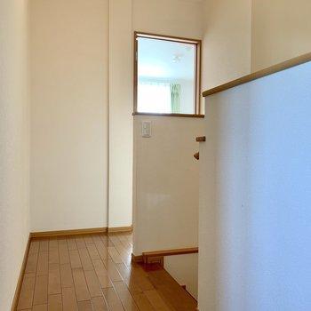 階段登って右には洋室
