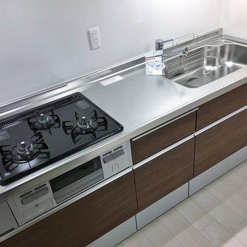 調理スペース、収納もばっちりです♪