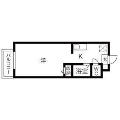 名古屋インターマンション の間取り