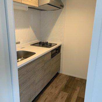 キッチンはこちら。ナチュラルで優しいデザインです