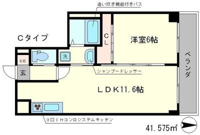 The Manor House 西院の間取り