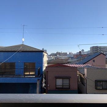 閑静な住宅街が広がっています。