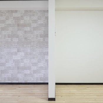 壁と空間は使いよう
