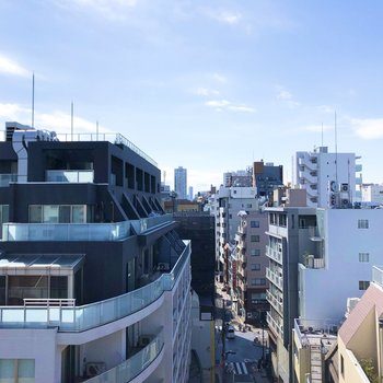 高層ビルがたくさんありますね。