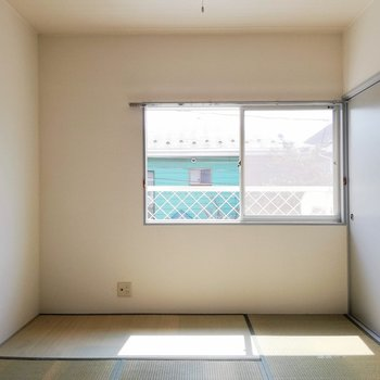 【和室】さあいよいよ和室!※写真は2階の同間取り別部屋のものです