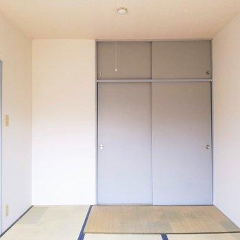 【和室】シブい...!※写真は2階の同間取り別部屋のものです