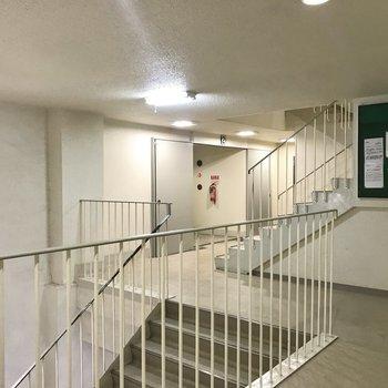 【共用部】お部屋は2階なので階段もよく使いそう。