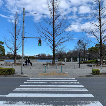 駅前に浮間公園!