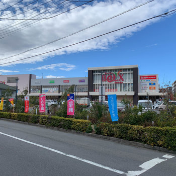 近隣には家電量販店の入った大型スーパーやファミレスなどがあります。