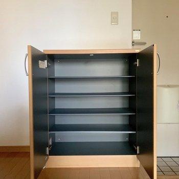 シューズボックス上に鍵置場を設けたい。