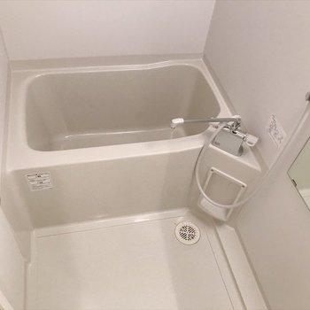 THE シンプルな浴室。