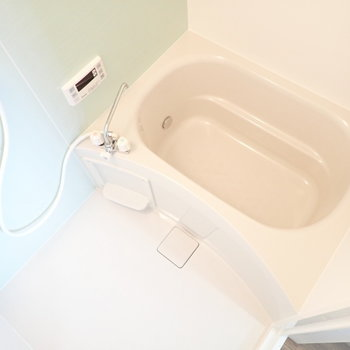 バスルームも爽やかです