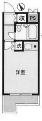 OYO LIFE #3926 スカイコート横浜弘明寺 の間取り