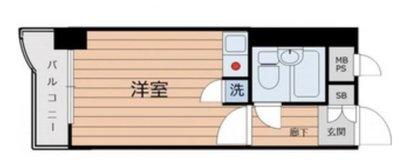OYO LIFE #4228 ライオンズマンション中村橋第3 の間取り