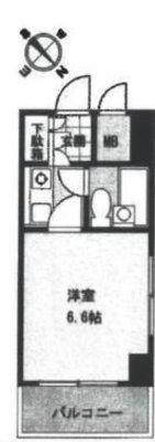 OYO LIFE #3023 ライオンズマンション三鷹さくら通り の間取り