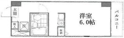 OYO LIFE #3993 メゾン・ド・コンテス の間取り