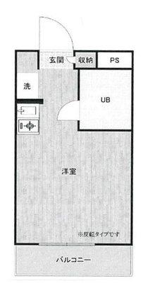 OYO LIFE #3912 ビアメゾン三井part21 の間取り