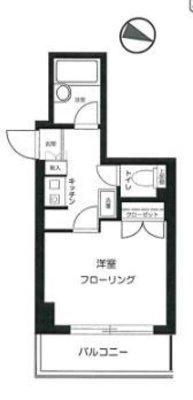 OYO LIFE #2871 メインステージ東高円寺 の間取り