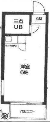 OYO LIFE #3148 TOP東長崎 の間取り