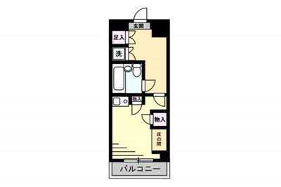 東建シティハイツ上野(1050) の間取り