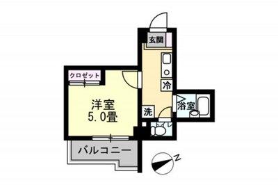 プレール渋谷壱番館(1051) の間取り
