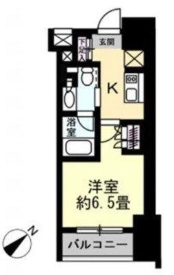 ザ・パークワンズ渋谷本町(1115) の間取り